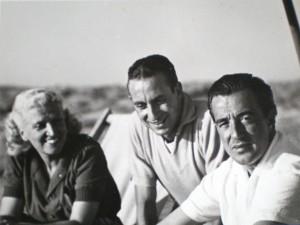 Romolo Garroni e Vittorio De Sica